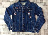 Джинсовая куртка для мальчиков Seagull 134-164 p.p.
