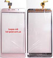 Leagoo m8 сенсор(gold)