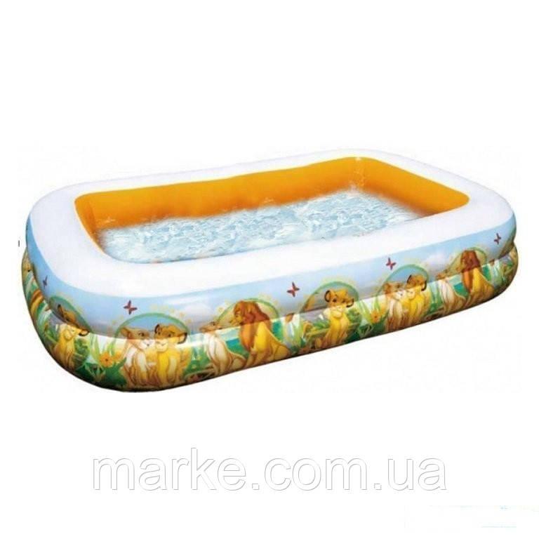 """Intex 57492 надувной бассейн """"Король лев"""""""