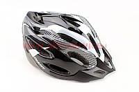 Шлем велосипедный L (54-62 см) съемный козырек, 20 вент. отверстия, системы регулир. по размеру Divider и Run System SRS