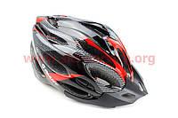 Шлем велосипедный L (54-62 см) съемный козырек, 21 вент. отверст, системы регулировки по разм. Divider и Run System SRS