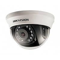 Купольная камера видеонаблюдения Hikvision Turbo HD DS-2CE56D0T-IRMMF (2.8 мм) 2мп