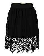 Черная гипюровая юбка Edina от Desires в размере S