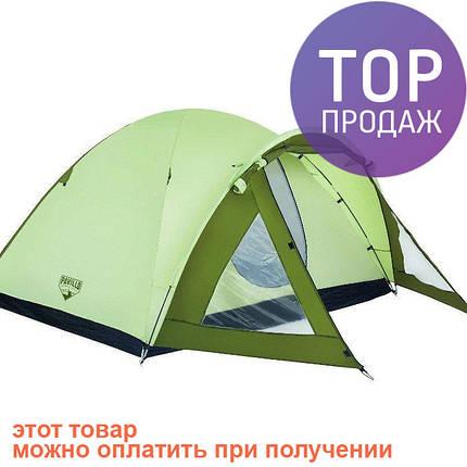 Четырехместная палатка Bestway Rock Mount 68014 / Двухслойная палатка для походов, фото 2