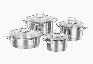 Набор посуды 8 пр. KORKMAZ (A1999)