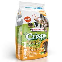 Versele-Laga Crispy Snack Fibres ВЕРСЕЛЕ-ЛАГА КРИСПИ СНЕК ФИБРЕС зерновая смесь лакомство для грызунов, гранулы с овощами, 0,65кг