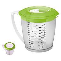 Измерительная емкость для взбивания миксером зеленая Helena WESTMARK (W3105227A)