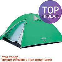 Двухместная палатка Bestway Glacier Ridge 68009 / Современная туристическая палатка