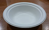 Тарелка бумажная глубокая 400мл  125шт/уп