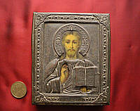 Старинная Икона Вседержатель