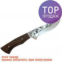 Туристический охотничий нож ручной работы Олень / Висококачественный стальной клинок