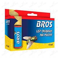 "Липучка для мух (мухоловка) ""BROS"""