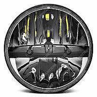 FB-7080 Светодиодные LED фары 7 дюймов (Нива, УАЗ 469, ГАЗ 24, ВАЗ 2101, Хаммер, FJ Cruiser, w463, мотоцикл)