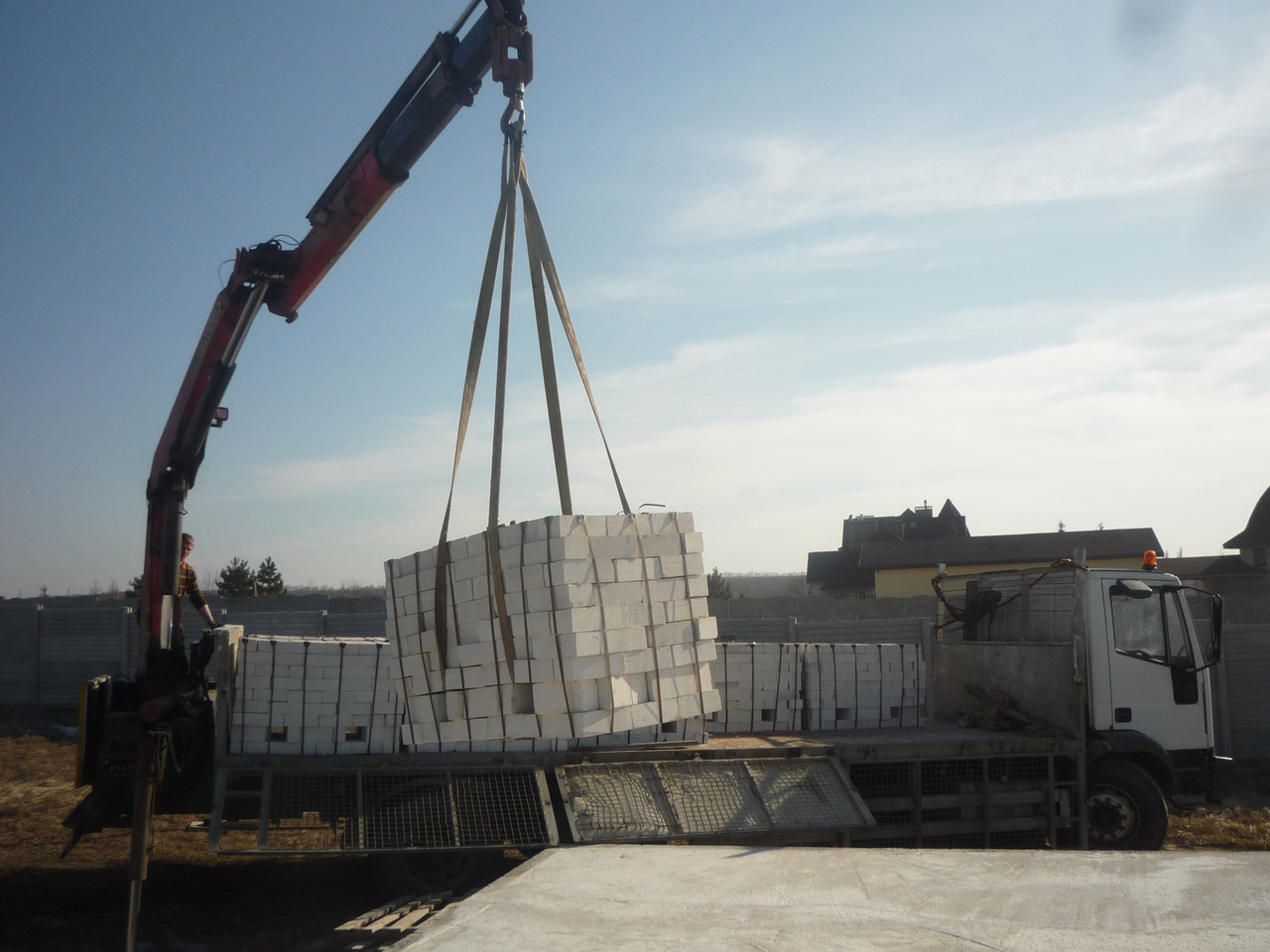 Аренда манипулятора DAF 15 тонн