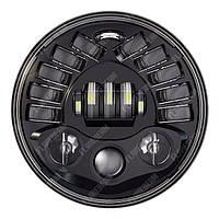 FB-8088 Светодиодные LED фары 7 дюймов (Нива, УАЗ 469, ГАЗ 24, ВАЗ 2101, Хаммер, FJ Cruiser, w463, мотоцикл)