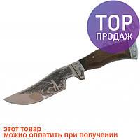 Туристический охотничий нож ручной работы Рыбак / Cтальной клинок для охоты и рыбалки