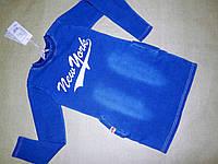 Платье туника джинсовое 128-164