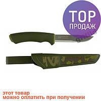 Туристический нож Mora BushCraft Forest Camo 11920 \Высококачественный стальной клинок