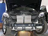 Декоративно-защитная сетка радиатора Mercedes-Benz GLS фальшрадиаторная решетка, бампер, фото 2