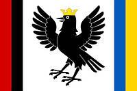 Флаг Ивано-Франковской области 90х150см