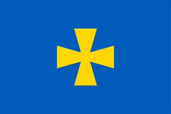 Флаг Полтавской области 90х150см