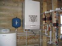 Установка и обвязка газового котла
