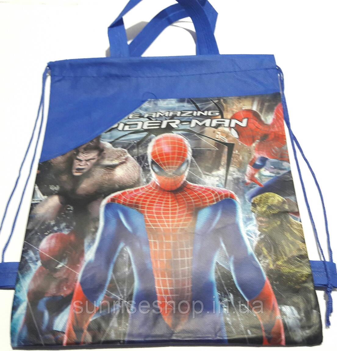 Рюкзак для сменной обуви Мультяшки