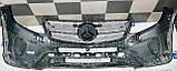 Декоративно-защитная сетка радиатора Mercedes-Benz GLS фальшрадиаторная решетка, бампер, фото 3