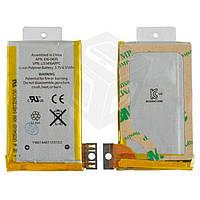 Аккумулятор для мобильного телефона Apple iPhone 3G, Li-ion, 3,7 В, 1220 мАч, #616-0428/616-0433