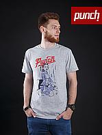 Футболка Punch - PinUp Girl, Grey, фото 1