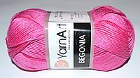 YarnArt Begonia 5001 ярко-розовый