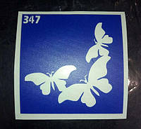 Трафарет для временного тату ТТ-347 YRE
