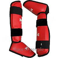 Защита стопы и голени (футы) Boxer, винил, размеры: S, М, L, XL разн. цвета
