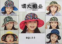 """Шляпка""""капор""""для девочек р, 52-56."""
