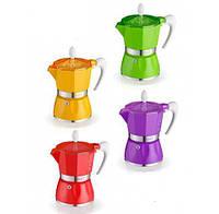 Гейзерная кофеварка на 6 чашек BELLA GAT (103806)