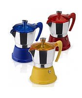 Гейзерная кофеварка на 3 чашки FANTASIA GAT (106003)