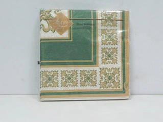 Декоративная трехслойная бумажная салфетка, Классика