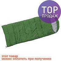 Спальник Terra Incognita Asleep Wide 200 зеленый / Спальный туристический мешок