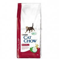 Cat Chow Urinary Tract Health корм для профилактики мочекаменной болезни у кошек, 1,5 кг