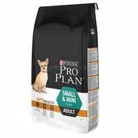 Purina Pro Plan Adult Small and Mini с комплексом OPTIHEALT  для собак маленьких пород с курицей, 3 кг