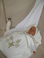 """Махровое полотенце для крещения новорожденного """"Лори"""". Крыжма. Крижмо. Крыжма для крестин ребенка"""