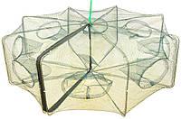 Раколовка -книжка 8 входов 80 см (восьмигранник)