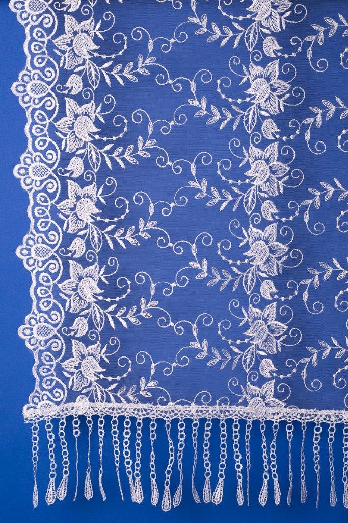 Свадебный шарф для невесты Кs 5