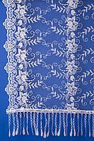 Шарф для невесты (белый) Кs 14
