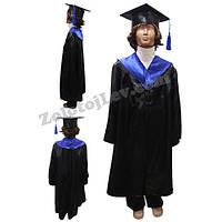 Мантия выпускника для ребенка рост 122