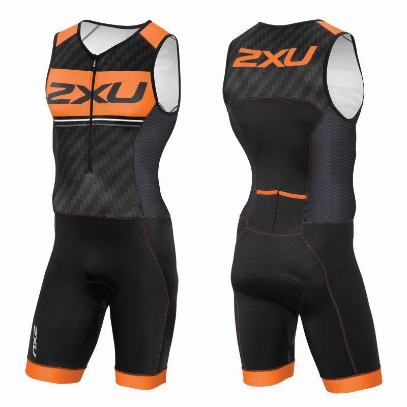 Мужской костюм для триатлона на молнии 2XU (Артикул: MT3622d)