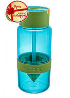 Бутылка для воды с поилкой для самодельного лимонада 450мл