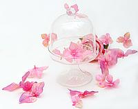 Бонбоньерка стекл. на подставке 18*11см