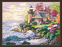 Картина по номерам: Дом возле маяка, 40х50см. (КНО115)