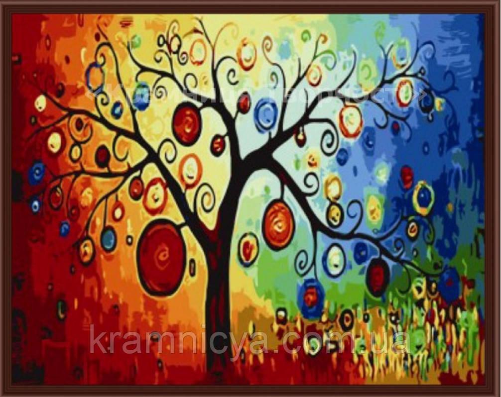 Картина по номерам: Денежное дерево, 40х50см. (КНО230)